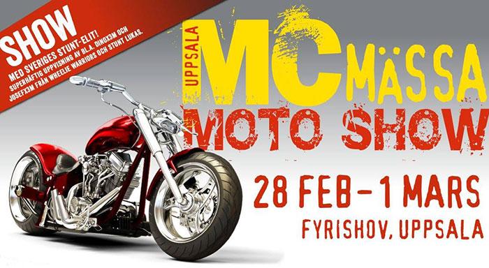 MC Mässa i Uppsala